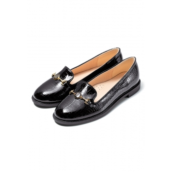 Marie Girls Loafers black