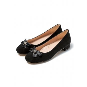 Туфли для девочек Adele чёрные