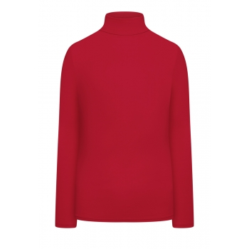 Turtleneck barberry red