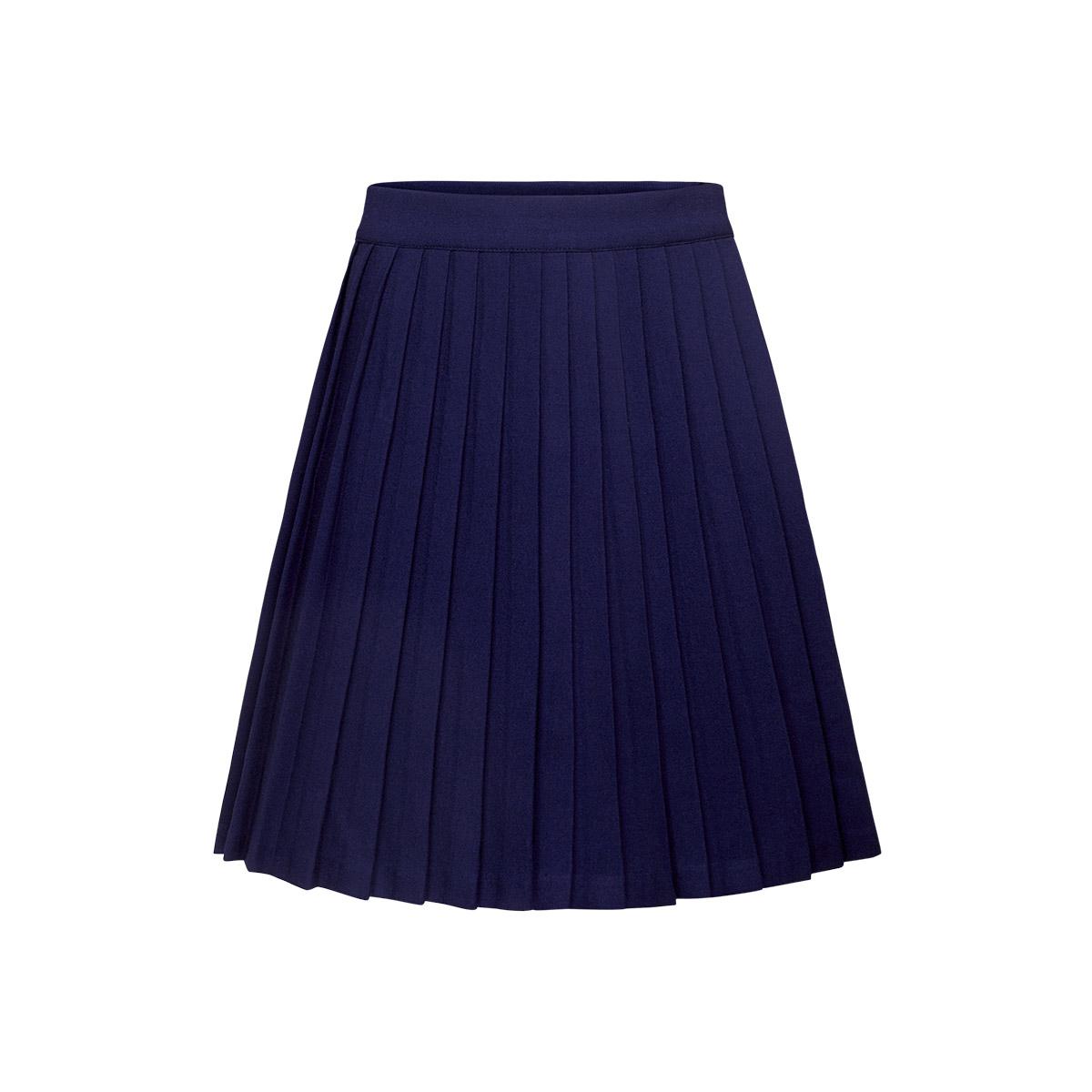 Плиссированные юбки синие