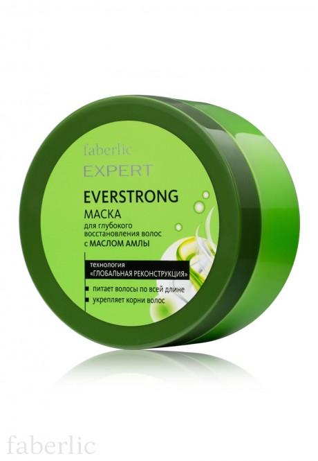 Маска для глубокого восстановления волос с МАСЛОМ АМЛЫ EVERSTRONG серии Expert