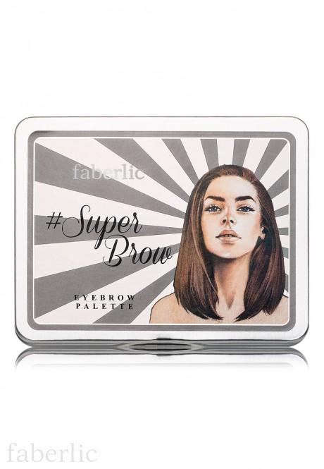 Паллета теней для бровей Superbrow  Eyebrow palette Superbrow арт 5466