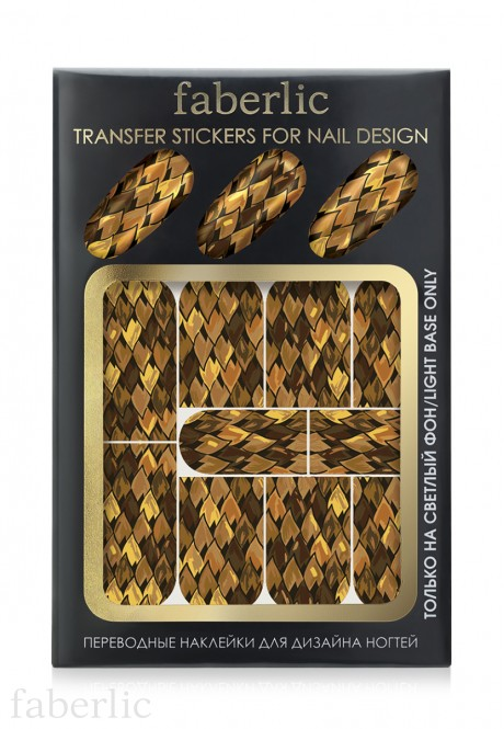 Transfer stickers for nail design