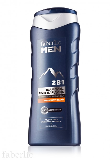 Toning 2in1 shampoo  shower gel