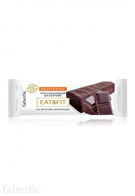 Eat  Fit Protein Bar with chocolate flavor