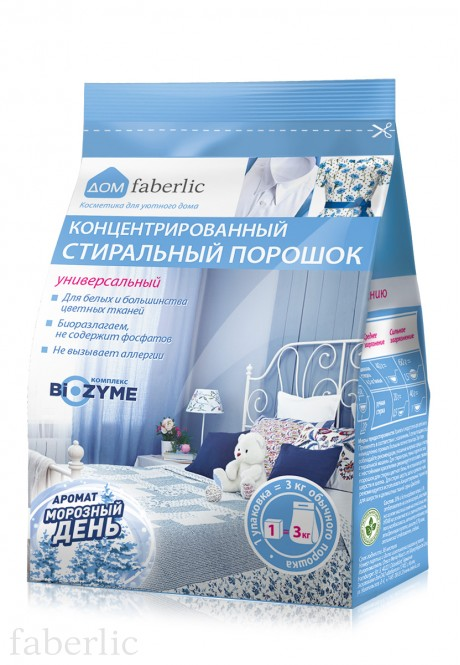 Concentrated Universal Laundry Detergent Winter Freshness