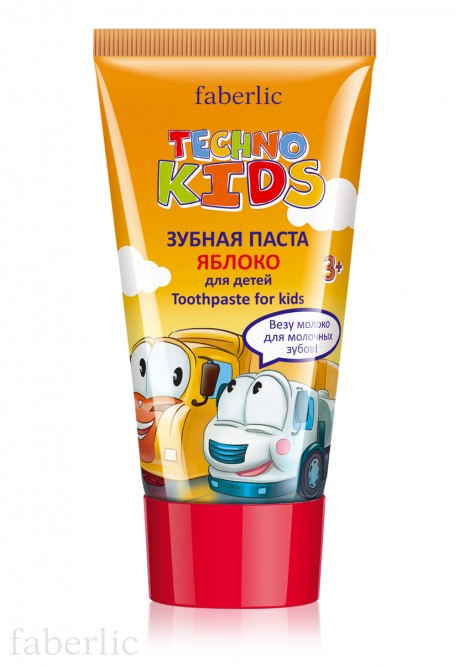 Techno Kids Toothpaste apple flavor
