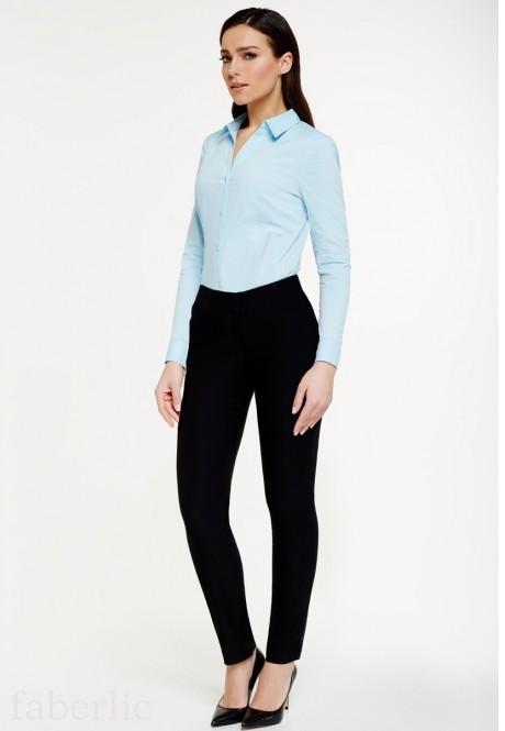 Fl 7032 брюки женские чёрный
