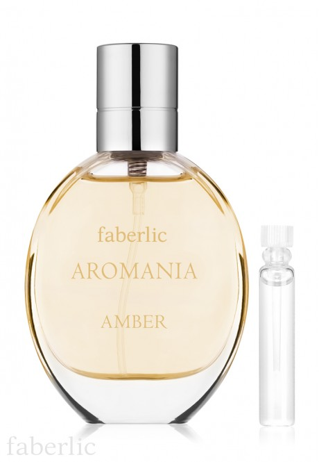 Faberlic AROMANIA AMBER Eau de Toilette For Her test sample