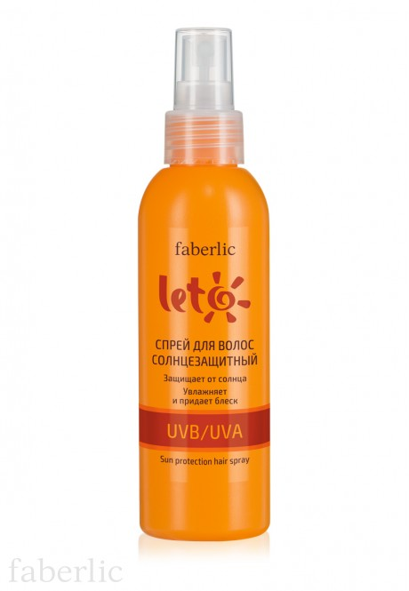 LETO Sun Protection Hair Spray