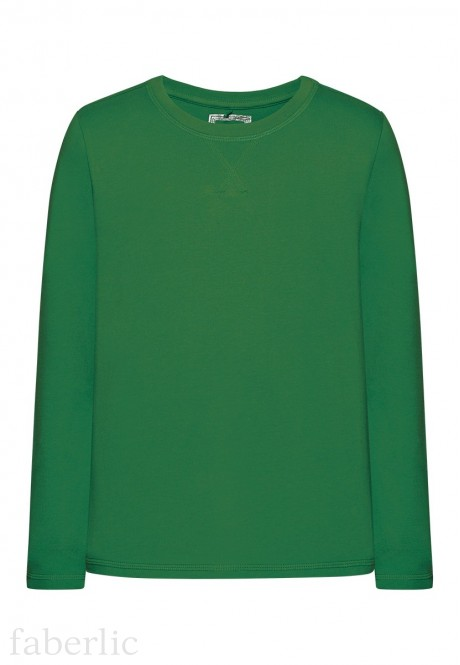 Long sleeve Tshirt for boy bright green