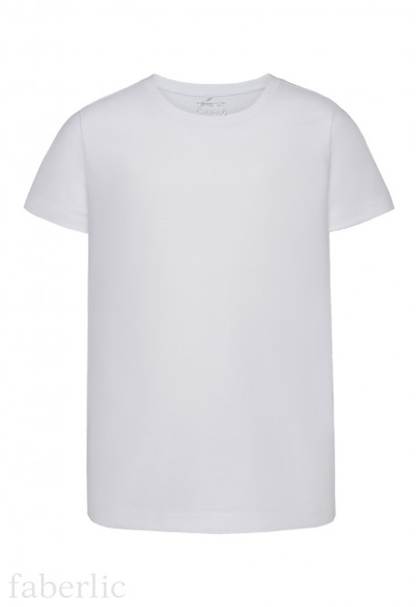 Short sleeve Tshirt for boy white