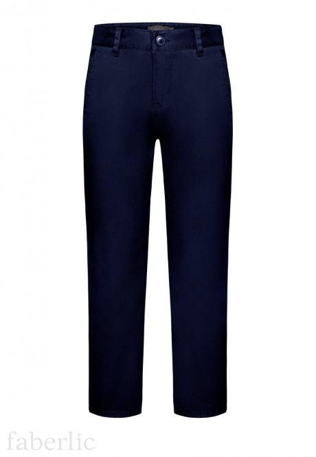 Trousers for boy dark blue