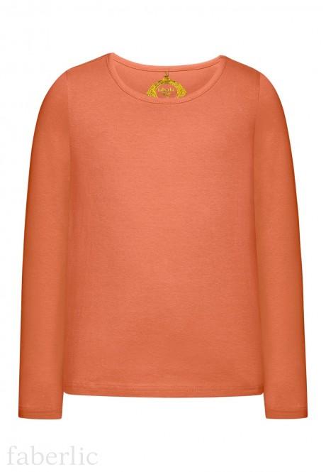 Girls Long Sleeve Tshirt coral
