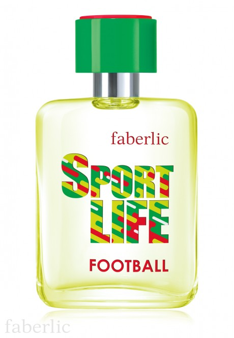 Sportlife Football Eau de Toilette for Him