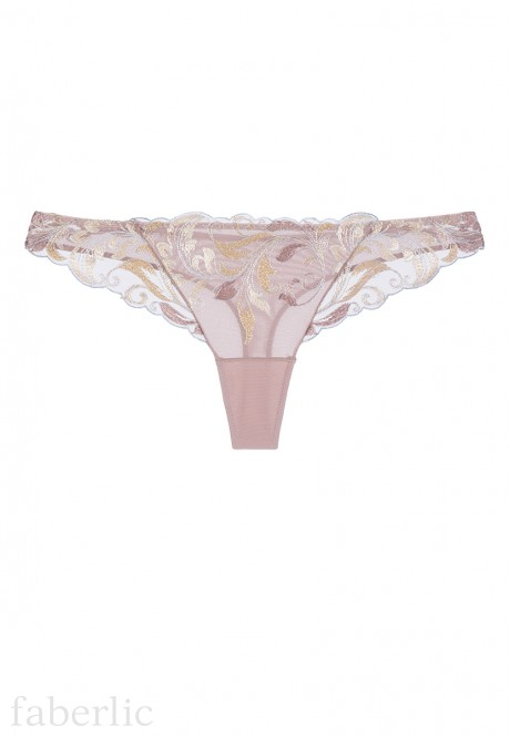 Orse String Briefs beige grey