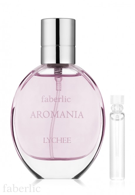 Aromania Lychee Eau de Toilette For Her test sample