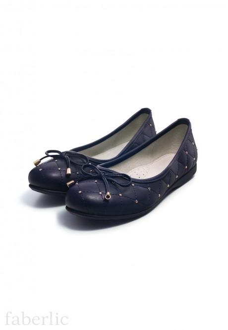 Балетки Elegance для девочек синие