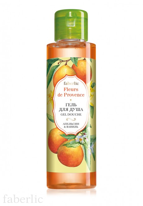 Orange  Vanilla Shower Gel