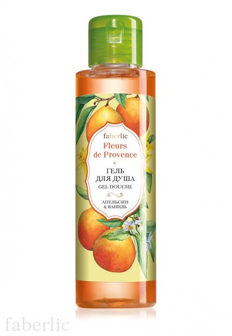 Гель для душа Апельсин  ваниль