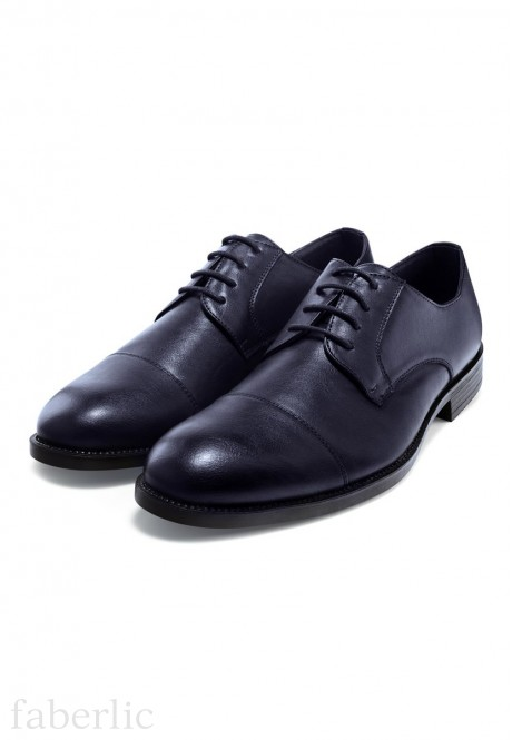 Mens Classic lace up shoes blue