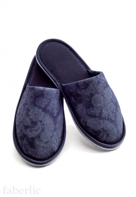 Womens home slippers blue