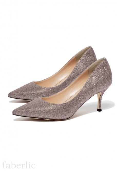 PMW031 Sieviešu kurpes Brilliance pūdera krāsā