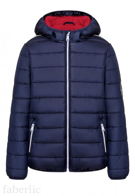 Boys Insulated Coat dark blue