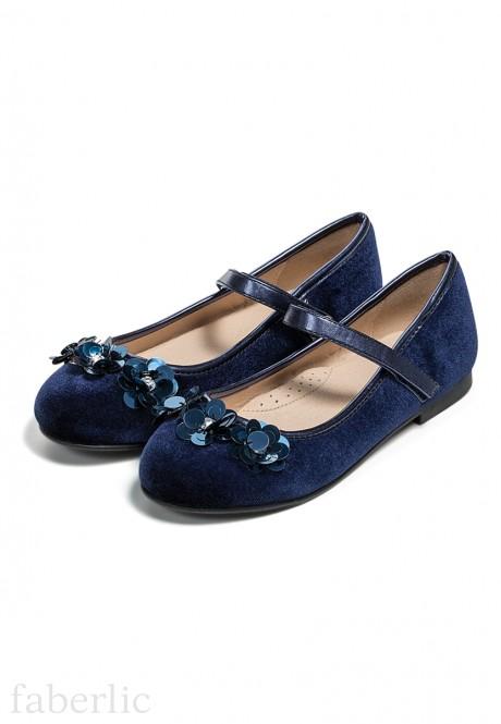 Туфли для девочек Vivat синие
