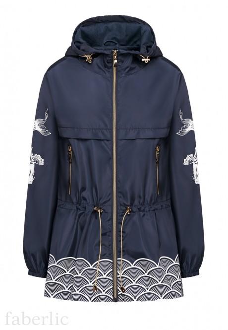 Куртка для женщины цвет темносиний