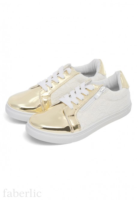 Girls Naomi Sneakers gold