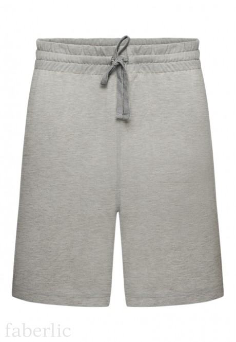 Mens Shorts light grey melange