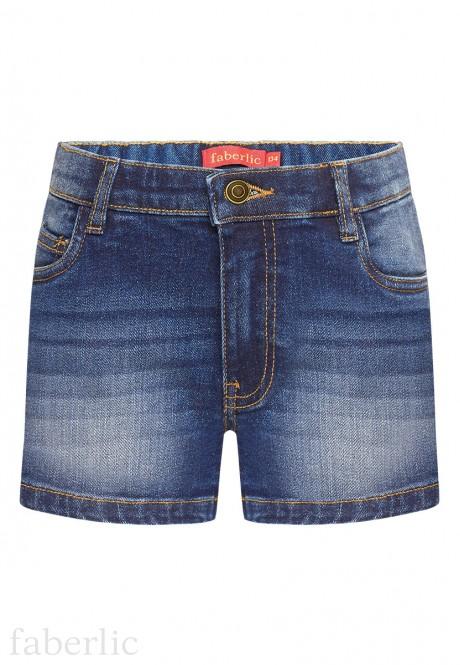 Girls Denim Shorts blue