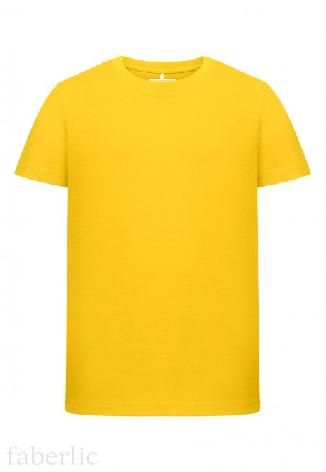 Boys  Tshirt bright yellow