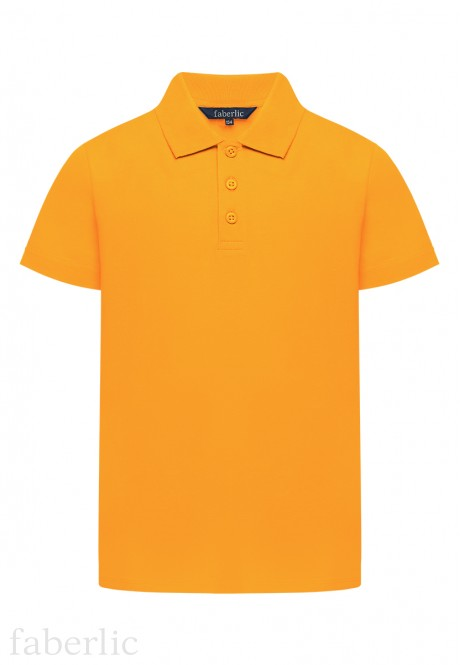 Boys Polo Shirt orange