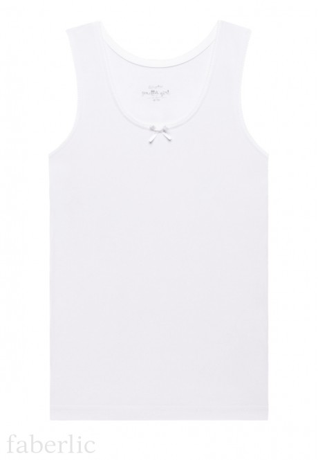 Girls Tank Top white