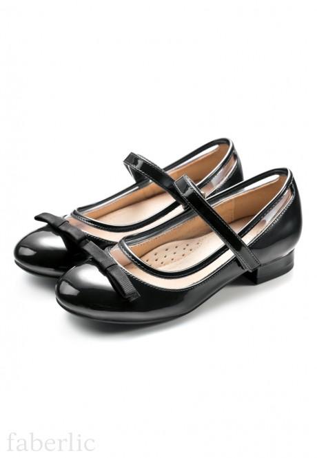 Туфли для девочек Isabel черные