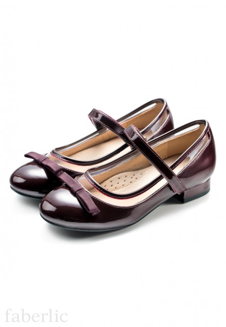 Girls Isabel Pumps burgundy