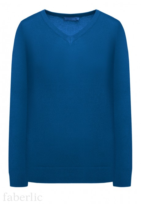 Knit Jumper royal blue