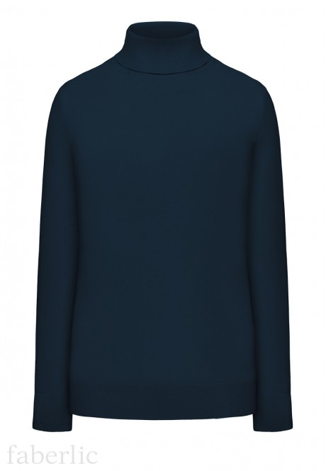 Knit Jumper dark blue
