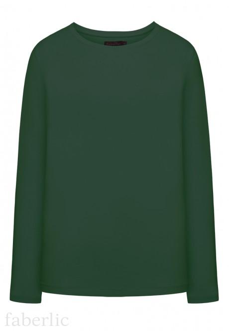 Футболка цвет темнозеленый