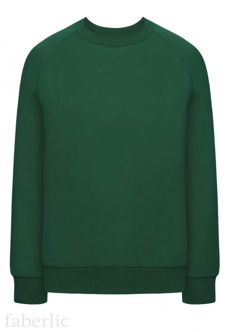 Толстовка цвет темнозеленый