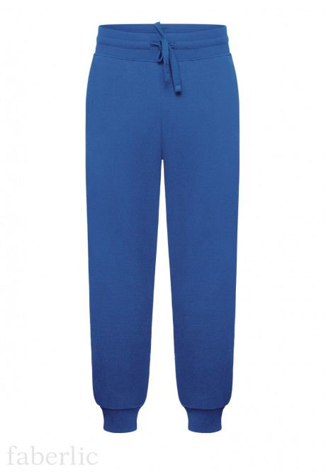 Mens Jersey Trousers royal blue