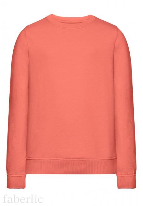 Girls Sweatshirt peach pink