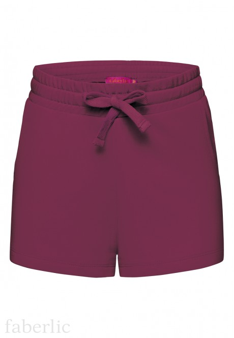 Girls Shorts plum