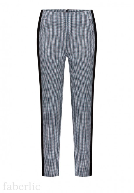 PieddePoule TightLeg Trousers multicolour