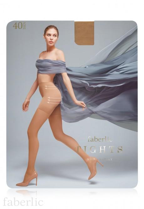 Моделирующие колготки SI410 плотность 40 den цвет песочный
