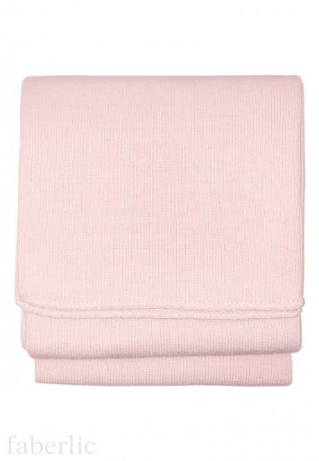 Шарф дитячий колір рожевий