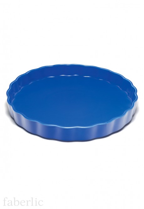 Pie Dish blue