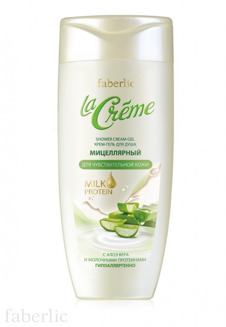 Micellar Shower Cleam Gel for sensitive skin